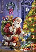 Marcello, CHRISTMAS SANTA, SNOWMAN, WEIHNACHTSMÄNNER, SCHNEEMÄNNER, PAPÁ NOEL, MUÑECOS DE NIEVE, paintings+++++,ITMCXM1317,#X#