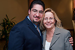 Richard Cantu, Director of Service with Gretchen Larson, Director of Economic Development for the East Aldine Management District