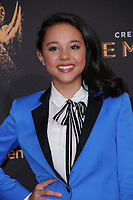 10 September  2017 - Los Angeles, California - Breanna Yde. 2017 Creative Arts Emmys - Arrivals held at Microsoft Theatre L.A. Live in Los Angeles. <br /> CAP/ADM/BT<br /> &copy;BT/ADM/Capital Pictures