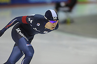 SPEEDSKATING: CALGARY: 13-11-2015, Olympic Oval, ISU World Cup, 5000m, Seung-Hoon Lee (KOR), ©foto Martin de Jong