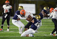 NWA Democrat-Gazette/ANDY SHUPE<br /> Shiloh Christian Nashville Friday, Nov. 29, 2019, during the first half of play at Champions Stadium in Springdale. Visit nwadg.com/photos to see more photographs from the game.
