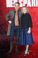 Jeremy Irons &amp; Sinead Cusack at the &quot;Red Sparrow&quot; premiere at the Vue West End, Leicester Square, London, UK. <br /> 19 February  2018<br /> Picture: Steve Vas/Featureflash/SilverHub 0208 004 5359 sales@silverhubmedia.com