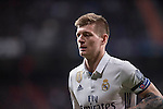 Toni Kroos of Real Madrid during the match Real Madrid vs Napoli, part of the 2016-17 UEFA Champions League Round of 16 at the Santiago Bernabeu Stadium on 15 February 2017 in Madrid, Spain. Photo by Diego Gonzalez Souto / Power Sport Images