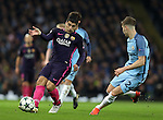 Luis Suarez of Barcelona during the Champions League Group C match at the Etihad Stadium, Manchester. Picture date: November 1st, 2016. Pic Simon Bellis/Sportimage