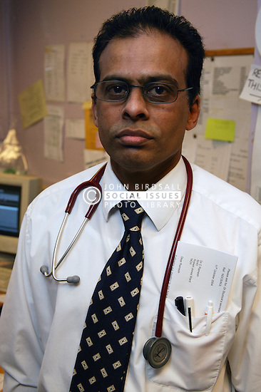 Portrait of Hospital doctor,