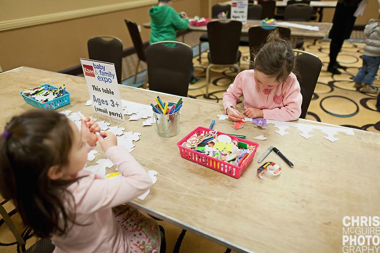 02/12/12 - Kalamazoo, MI: Kalamazoo Baby & Family Expo.  Photo by Chris McGuire.  R#3/4