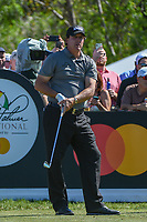 Phil Mickelson (USA) watches his tee shot on 7 during round 1 of the Arnold Palmer Invitational at Bay Hill Golf Club, Bay Hill, Florida. 3/7/2019.<br /> Picture: Golffile | Ken Murray<br /> <br /> <br /> All photo usage must carry mandatory copyright credit (&copy; Golffile | Ken Murray)