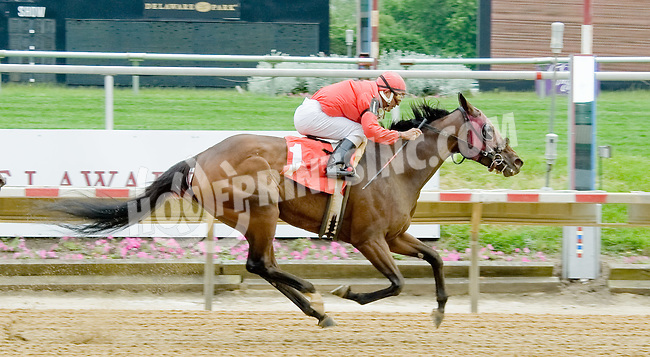 Princess Beau K winning at Delaware Park on 5/21/12