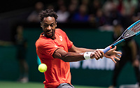 Rotterdam, The Netherlands, 14 Februari 2019, ABNAMRO World Tennis Tournament, Ahoy, quarter finals, singles, Gael Monfils (FRA),<br /> Photo: www.tennisimages.com/Henk Koster