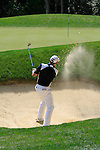 James Kingston plays out of a bunker at the 1st green during Round 2 of the BMW PGA Championship at  Wentworth, Surrey, England...Photo Golffile/Eoin Clarke.(Photo credit should read Eoin Clarke www.golffile.ie)....This Picture has been sent you under the condtions enclosed by:.Newsfile Ltd..The Studio,.Millmount Abbey,.Drogheda,.Co Meath..Ireland..Tel: +353(0)41-9871240.Fax: +353(0)41-9871260.GSM: +353(0)86-2500958.email: pictures@newsfile.ie.www.newsfile.ie.