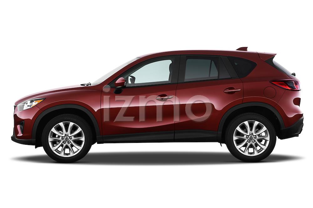 Driver side profile view of a 2013 Mazda CX-5 GT.
