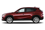 Driver side profile view of a 2013 Mazda CX-5 GT.