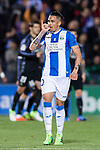 Luciano Neves of Deportivo Leganes celebrates during their La Liga match between Deportivo Leganes and Real Madrid at the Estadio Municipal Butarque on 05 April 2017 in Madrid, Spain. Photo by Diego Gonzalez Souto / Power Sport Images