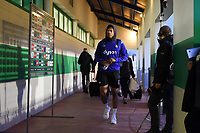Anthony Watson and the rest of the Bath Rugby team arrive at the ground. European Rugby Champions Cup match, between Benetton Rugby and Bath Rugby on January 20, 2018 at the Municipal Stadium of Monigo in Treviso, Italy. Photo by: Patrick Khachfe / Onside Images