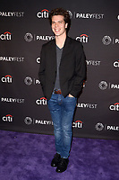 "LOS ANGELES - SEP 10:  Gus Halper at the ""The Menendez Murders"" at the 11th PaleyFest Fall TV Previews at the Paley Center for Media on September 10, 2017 in Beverly Hills, CA"