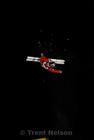 Trent Nelson  |  The Salt Lake Tribune.Guangpu Qi, China, Aerials competition, Freestyle FIS World Cup at Deer Valley Friday, January 15, 2010.