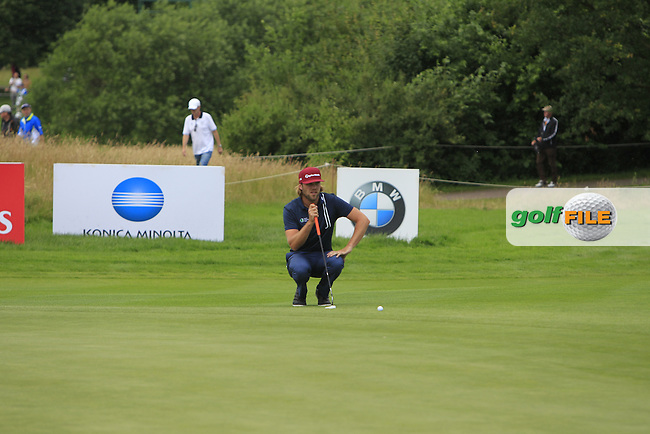 Johan Carlsson (SWE) on the 8th green during Round 4 of the 2016 BMW International Open at the Golf Club Gut Laerchenhof in Pulheim, Germany on Sunday 26/06/16.<br /> Picture: Thos Caffrey | Golffile