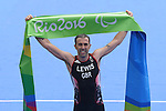 Andrew Lewis (GBR), <br /> SEPTEMBER 10, 2016 - Triathlon : <br /> Men's Individual Paratriathlon PT2 <br /> at Fort Copacabana<br /> during the Rio 2016 Paralympic Games in Rio de Janeiro, Brazil.<br /> (Photo by AFLO SPORT)