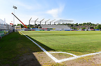 A general view of St James Park, home of Exeter City FC<br /> <br /> Photographer Chris Vaughan/CameraSport<br /> <br /> The EFL Sky Bet League Two Play Off Second Leg - Exeter City v Lincoln City - Thursday 17th May 2018 - St James Park - Exeter<br /> <br /> World Copyright &copy; 2018 CameraSport. All rights reserved. 43 Linden Ave. Countesthorpe. Leicester. England. LE8 5PG - Tel: +44 (0) 116 277 4147 - admin@camerasport.com - www.camerasport.com