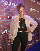 "LOS ANGELES - FEBRUARY 19: Amanda Seales arrives at the red carpet event for FX's ""Atlanta Robbin' Season"" at the Ace Theatre on February 19, 2018 in Los Angeles, California.(Photo by Frank Micelotta/FX/PictureGroup)"