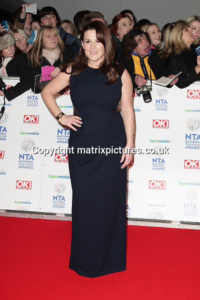 NON EXCLUSIVE PICTURE: MATRIXPICTURES.CO.UK<br /> PLEASE CREDIT ALL USES<br /> <br /> WORLD RIGHTS<br /> <br /> The X Factor 2013 winner Sam Bailey attending the National Television Awards, at the 02 Arena in London.<br /> <br /> JANUARY 22nd 2014<br /> <br /> REF: GBH 14340