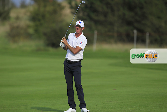 Richard Green (AUS) on the 6th fairway during Round 1 of the Made in Denmark 2016 at the Himmerland Golf Resort, Farso, Denmark on Thursday 25th August 2016.<br /> Picture:  Thos Caffrey / www.golffile.ie<br /> <br /> All photos usage must carry mandatory copyright credit   (&copy; Golffile | Thos Caffrey)