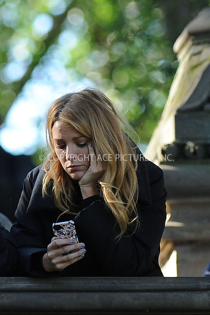 WWW.ACEPIXS.COM . . . . . .October 11, 2012...New York City....Blake Lively filming on the set of Gossip Girl in Central Park on October 11, 2012 in New York City ....Please byline: KRISTIN CALLAHAN - ACEPIXS.COM.. . . . . . ..Ace Pictures, Inc: ..tel: (212) 243 8787 or (646) 769 0430..e-mail: info@acepixs.com..web: http://www.acepixs.com .