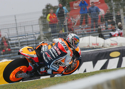 27.04.2012. Jerez, Spain.  Grand Prix MotoGP of Spain, Jerez.  The picture shows PEDROSA