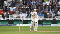 England's Joe Root loses his wicket to South Africa's Morne Morkel giving this catch to Quinton de Kock<br /> <br /> Photographer Stephen White/CameraSport<br /> <br /> Investec Test Series 2017 - Second Test - England v South Africa - Day 2 - Saturday 15th July 2017 - Trent Bridge - Nottingham<br /> <br /> World Copyright &copy; 2017 CameraSport. All rights reserved. 43 Linden Ave. Countesthorpe. Leicester. England. LE8 5PG - Tel: +44 (0) 116 277 4147 - admin@camerasport.com - www.camerasport.com