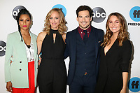 LOS ANGELES - FEB 5:  Kelly McCreary, Kim Raver, Giacomo Gianniotti, Camilla Luddington at the Disney ABC Television Winter Press Tour Photo Call at the Langham Huntington Hotel on February 5, 2019 in Pasadena, CA.<br /> CAP/MPI/DE<br /> ©DE//MPI/Capital Pictures
