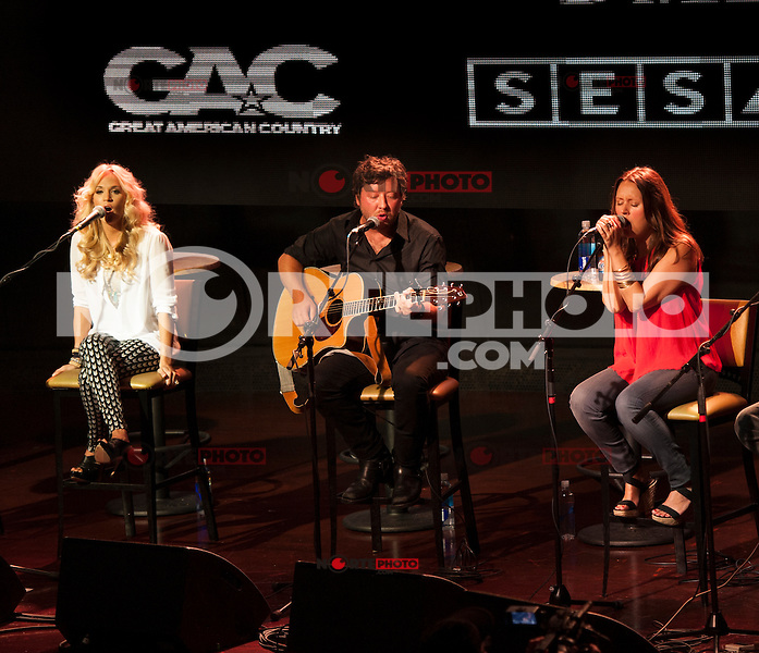 BOSTON, MA - JULY 31, 2012: CMA Songwriter Series 2012 with Bob DiPiero,Carrie Underwood, Brett James, Luke Laird, Hillary Lindsey playing at The Royale Theater in Boston, Massachusetts. &copy;&nbsp;Rocco S. Coviello/MediaPunch Inc. /NortePhoto.com<br />