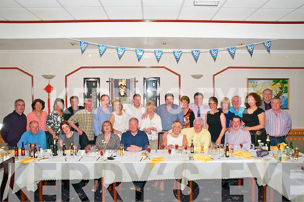 60th Birthday : Ned Conlon, Kilflynn celebrating his 60th birthday with family & friends at the Royal China Restaurant, Listowel on Friday night last.