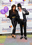 jessica wright and award winning Michael Jackson..impersonator Craig Harrison at Gulliver's  world milton keyens  for a  party for its charity of the year Dreams Come  01/07/2012.Picture By: Brian Jordan / Retna Pictures.. ..-..