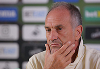 Manager Francesco Guidolin during the Swansea City Press Conference their game against Southampton, at The Liberty Stadium. Thursday 15 September 2016