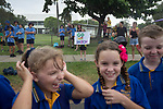 Schoolpupils cheering Batonbearer David Inch carrying the Baton as the Queen's Baton Relay visited Bowen. In the host state of Queensland the Queen's Baton will visit 83 communities from Saturday 3 March to Wednesday 4 April 2018. As the Queen's Baton Relay travels the length and breadth of Australia, it will not just pass through, but spend quality time in each community it visits, calling into hundreds of local schools and community celebrations in every state and territory. The Gold Coast 2018 Commonwealth Games (GC2018) Queen's Baton Relay is the longest and most accessible in history, travelling through the Commonwealth for 388 days and 230,000 kilometres. After spending 100 days being carried by approximately 3,800 batonbearers in Australia, the Queen's Baton journey will finish at the GC2018 Opening Ceremony on the Gold Coast on 4 April 2018.