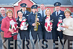 The annual Garda Christmas appeal will take place next week this year to raise funds for Tralee Mental Health Association and Caherina Day Hospital in Tralee. .Back L-R  Clinical Nurse Manager at Caherina Day Hospital Dermot Reen, Garda Kevin Walsh, Gard Jerry Quinlan and Garda Dave Rath. .Front L-R Anne O'Connor, Irena Collins, Garda Mick Courtney, Jennie Sheehy and Ann O'Brien