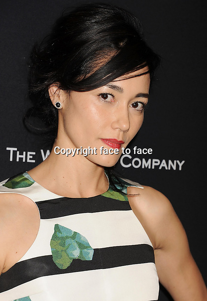 BEVERLY HILLS, CA- JANUARY 12: Actress Sandrine Holt attends The Weinstein Company &amp; Netflix 2014 Golden Globes After Party held at The Beverly Hilton Hotel on January 12, 2014 in Beverly Hills, California.<br />