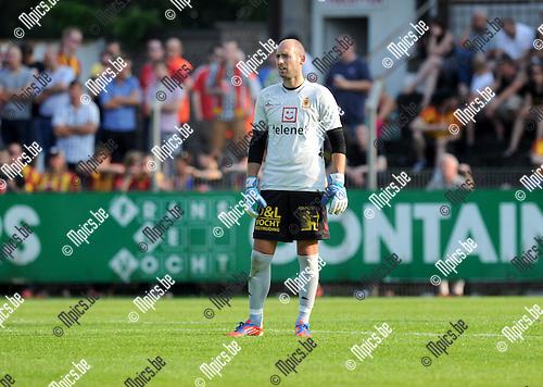 2013-07-07 / Voetbal / seizoen 2013-2014 / Rupel-Boom - KV Mechelen / Wouter Biebauw<br /><br />Foto: Mpics.be