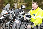 BIKING: Retired garda, Gerard McCarthy, who now runs Kerry's only motorcycle training school in Lisselton.