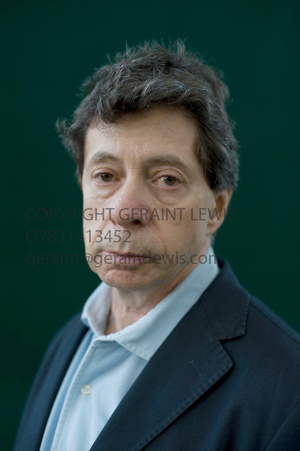 Richard Price,Novelist and oscar nominated writer of The Colour of Money and HBO's The Wire at The Edinburgh International Book Festival . CREDIT Geraint Lewis