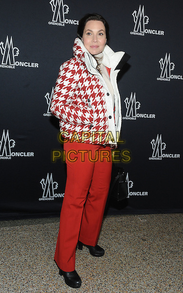 NEW YORK, NY - FEBRUARY 14: Fabiola Beracasa Beckman attends the Moncler Grenoble fashion show during 2017 New York Fashion Week at The Hammerstein Ballroom on February 14, 2017 in New York City.   <br /> CAP/MPI/JP<br /> &copy;JP/MPI/Capital Pictures