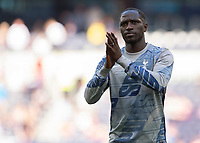 Moussa Sissoko of Tottenham Hotspur during the Premier League match between Tottenham Hotspur and Crystal Palace at Wembley Stadium, London, England on 14 September 2019. Photo by Vince  Mignott / PRiME Media Images.