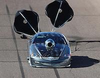 Feb 24, 2017; Chandler, AZ, USA; NHRA top sportsman driver Monte Green during qualifying for the Arizona Nationals at Wild Horse Pass Motorsports Park. Mandatory Credit: Mark J. Rebilas-USA TODAY Sports