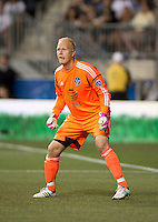 Jimmy Nielsen.  The MLS All-Stars defeated Chelsea, 3-2.