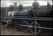 D&amp;RGW #169 T-12 on display at Alamosa.<br /> D&amp;RGW  Alamosa, CO