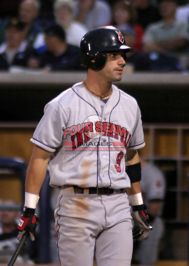 August 31, 2003:  Ryan Knox of the Indianapolis Indians during a game at Fifth Third Field in Toledo, Ohio.  Photo by:  Mike Janes/Four Seam Images