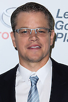 BURBANK, CA - OCTOBER 19: Actor Matt Damon arrives at the 23rd Annual Environmental Media Awards held at Warner Bros. Studios on October 19, 2013 in Burbank, California. (Photo by Xavier Collin/Celebrity Monitor)