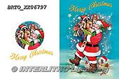 Alfredo, CHRISTMAS SANTA, SNOWMAN, WEIHNACHTSMÄNNER, SCHNEEMÄNNER, PAPÁ NOEL, MUÑECOS DE NIEVE, paintings+++++,BRTOXX06797,#x#