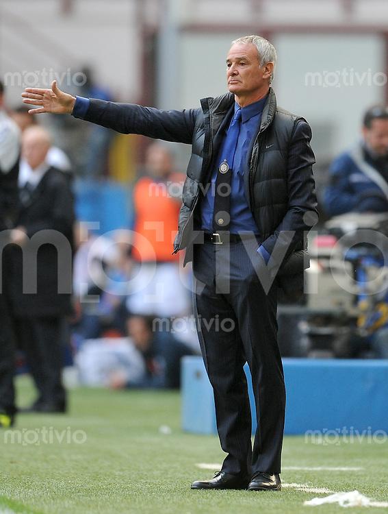 FUSSBALL INTERNATIONAL   SERIE A   SAISON 2011/2012    Inter Mailand - Chievoverona  23.10.2011 Trainer Claudio Ranieri (Inter Mailand)