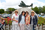 Pictured at the 75th Anniversary Air Show in Foynes on Sunday were L-R Catherine Waldron, Mary Brennan, Dublin, Valerie Maddigan, Wicklow and Hilda Hughes, Dublin.